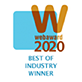2020 WebAward for Outstanding Achievement