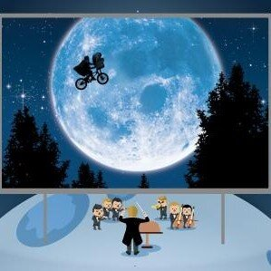 E.T. in concert for kids